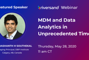 MDM and Data Analytics in Unprecedented Times